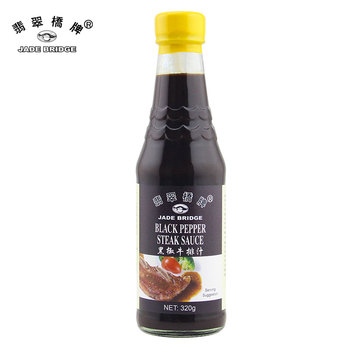320g High quality black pepper steak sauce