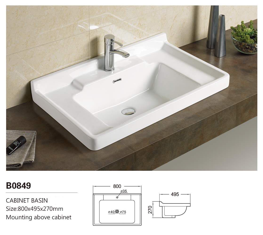 New Design product wash basin sink group