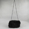 Women Girls Winter Fur Handbag Warmer Hand Real Fox Fur Hand Bag