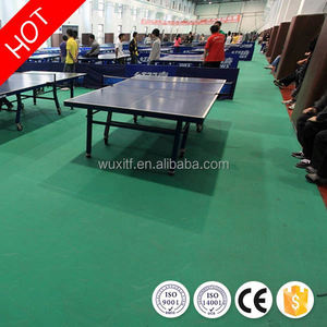 Temperature resistance non-slip ittf approved table tennis court flooring for sale