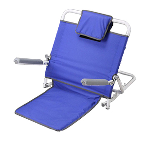 Adjustable Steel Rest Portable Foldable Bed Backrest for Orthopedic Neck, Head and Lumbar Support Cushion