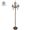 New Designs Indoor Crystal Antique Floor Lamp, Decorative Standing Candle Light