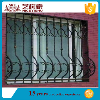 New 2016 Simple Modern Cheap Securtiy Sliding Window Grill Design