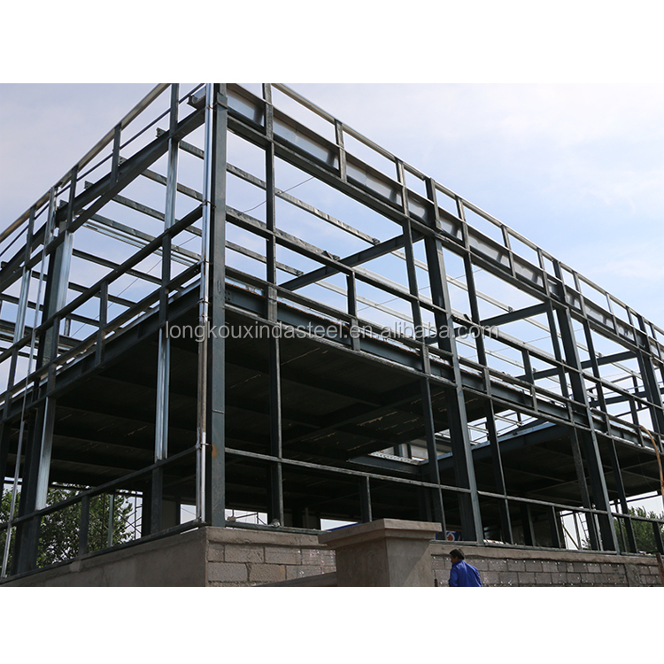 Steel structure used hot rolled welded wood h beam