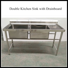 stainless steel commercial wholesale cheap price double bowl kitchen sink - Kitchen Sinks Cheap Prices