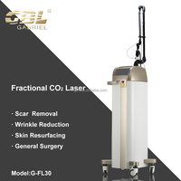 vertical CO2 laser device for acne scar removal clinic / medical care center use