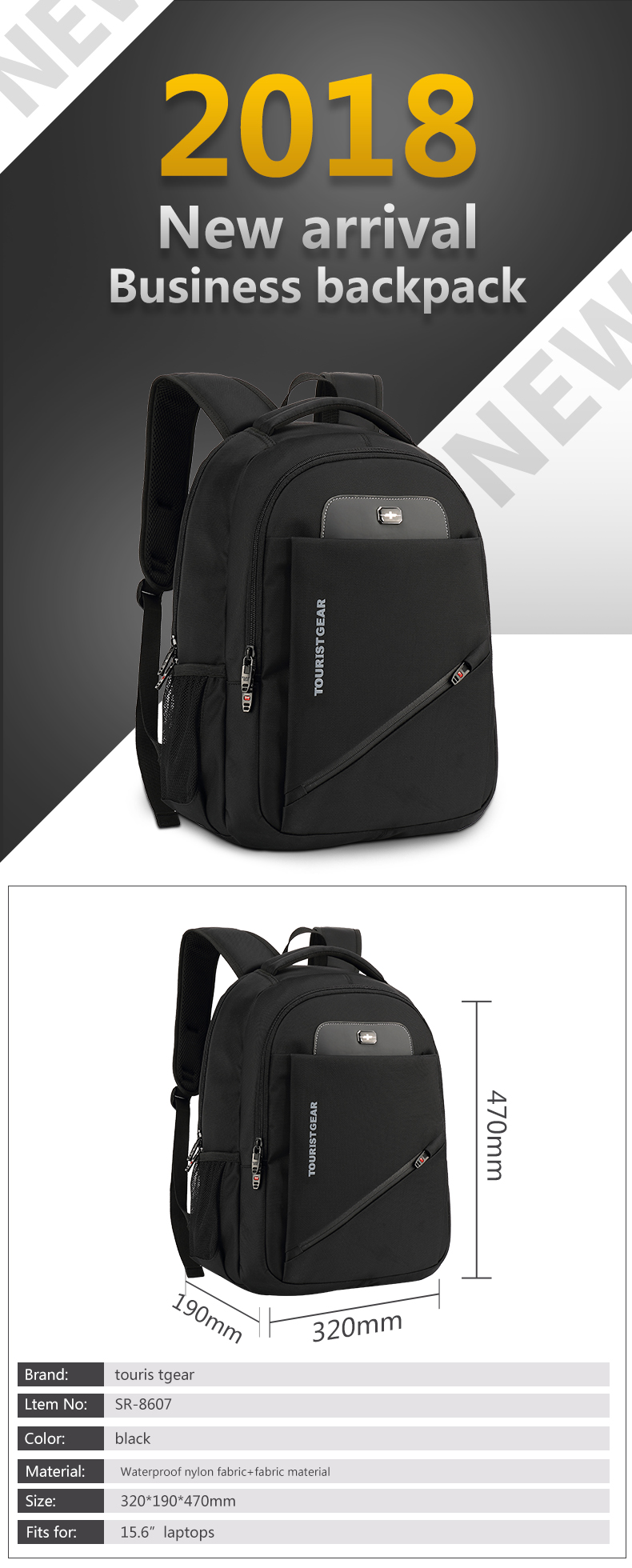 usb charging mens shoulder blank anti theft laptop bags smart laptop bags backpacks business backpack customization