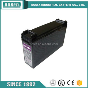 guangzhou deep cycle solar battery 12v170ah front terminal interstate battery lead crystal battery