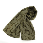 hot selling factory wholesale custom printed polyester satin scarf