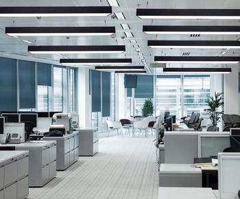 Led Pendant Light Office Linear Suspended
