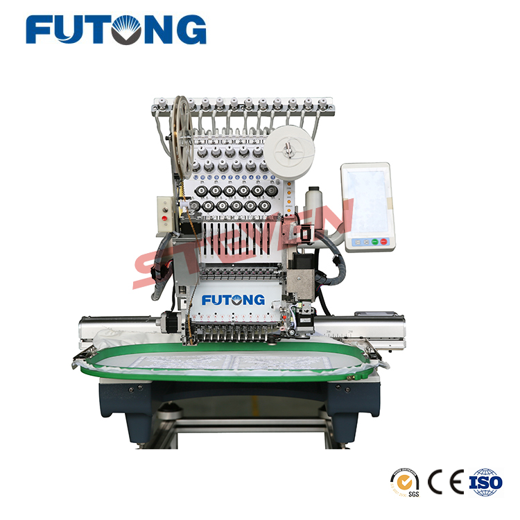 New Commercial Embroidery Machine FT-CT1201 Single Head Embroidery Machine