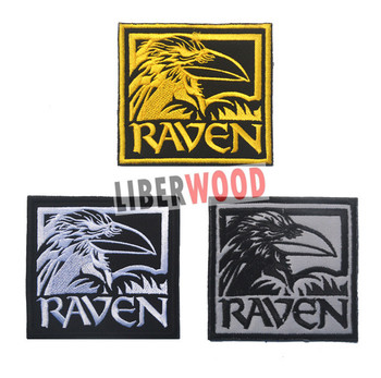 Odin Raven Patch Viking Emblem Embroidered Norse Mythology Norway Patch For  Backpack Stock - Buy Embroidered Patch,Military Patches,Patch & Badge