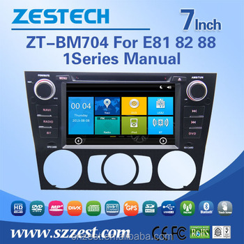 Most Professional Manufacturer Car Audio Navigation System Navigation For  Bmw E87 E81/82/88 With Auto Radio Dvd Bluetooth - Buy Navigation For Bmw