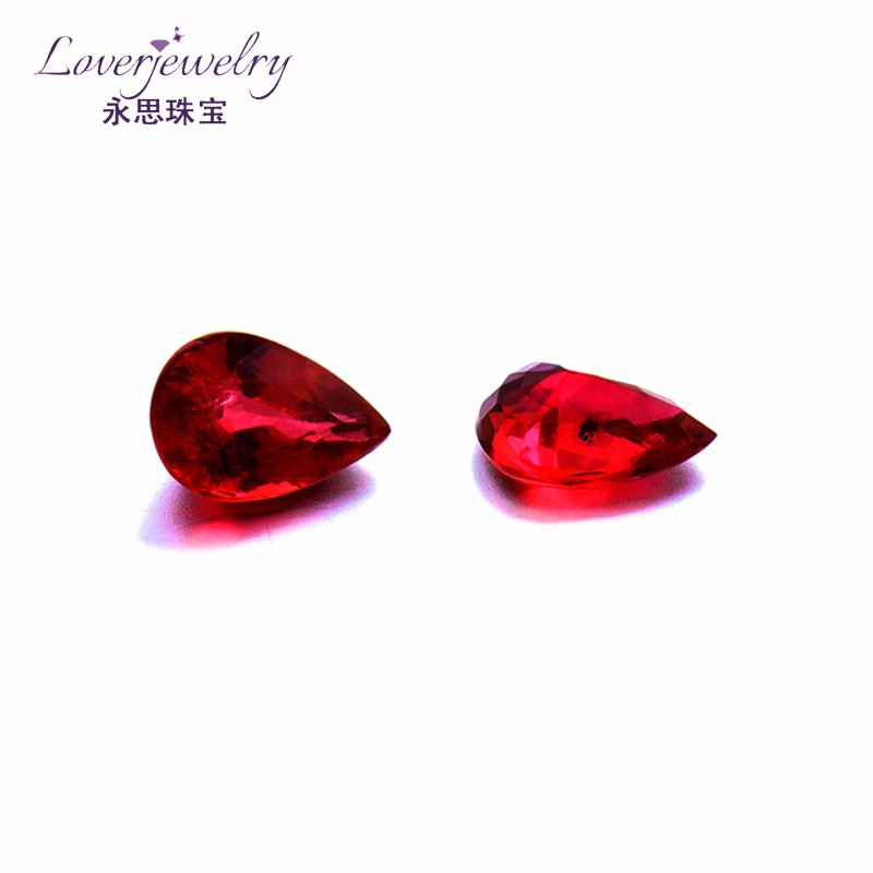 Custom design certified natural ruby,natural rough ruby stones