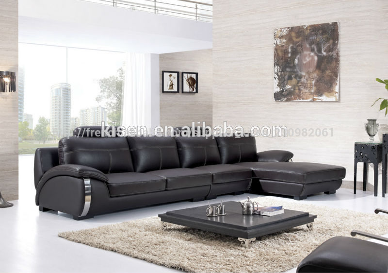 salon moderne meilleur sofa sectionnel en cuir pas cher ...