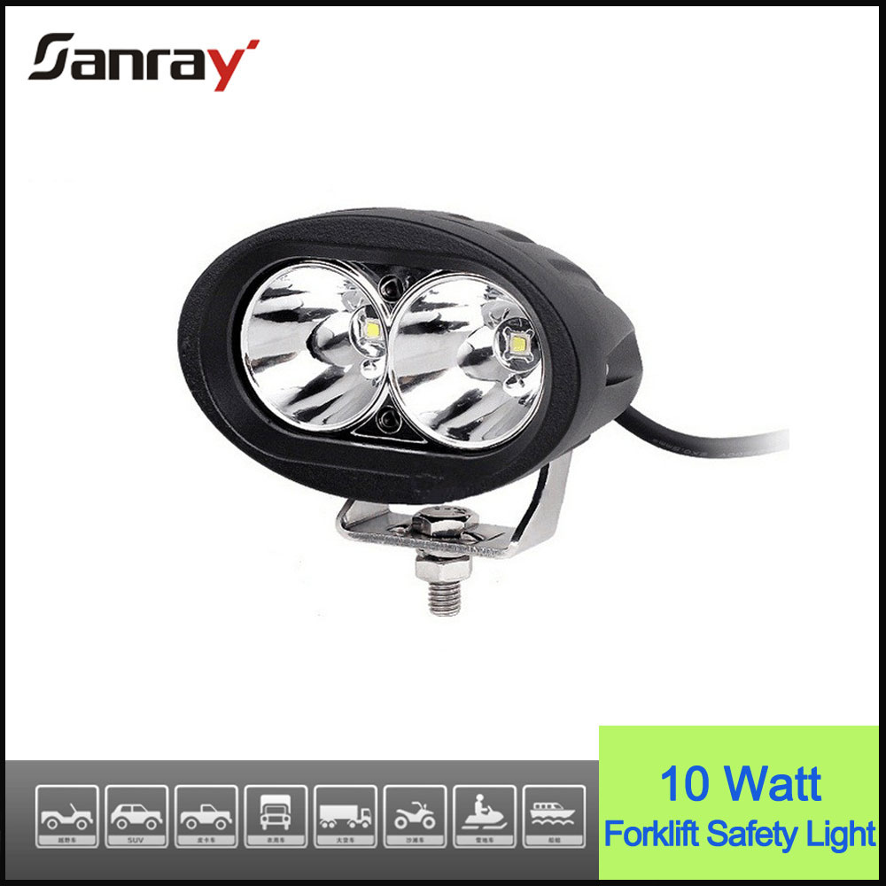 Bright 10w bule spot light forklift approach warning light
