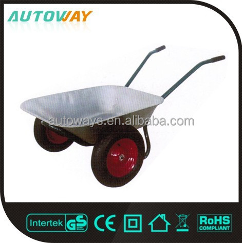 Utility Solid Wheel Easy To Assemble Wheelbarrow