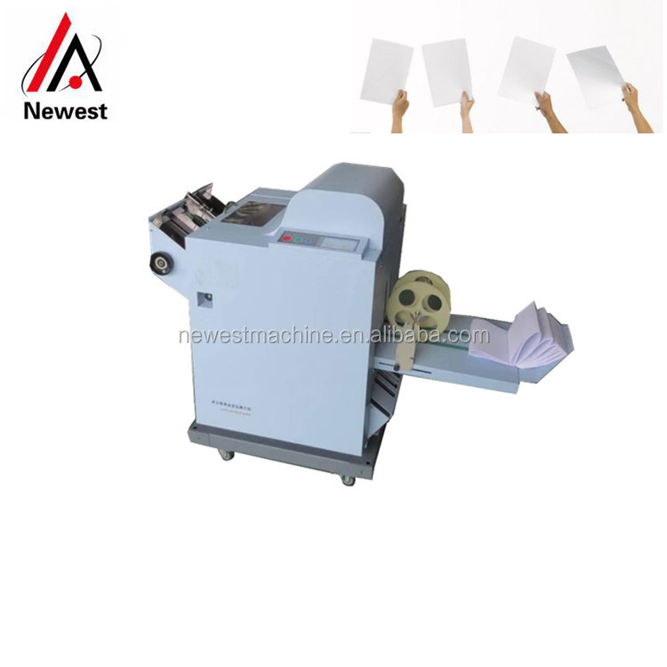 Long Working Time Paper Folding Machinery,Book Staple And