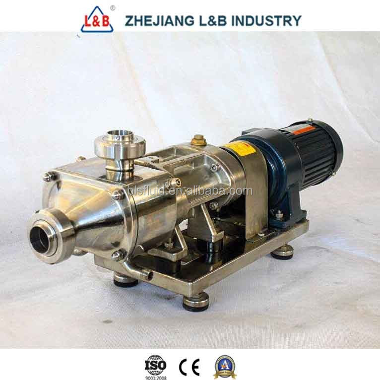 Inox Twin Screw Transfer Pump with Ce, ISO Certification
