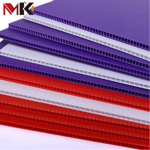 Coroplast/Corflute/Correx Board Sheet Seal Die Coroplast Corrugated Plastic Sheets For Floor Protection