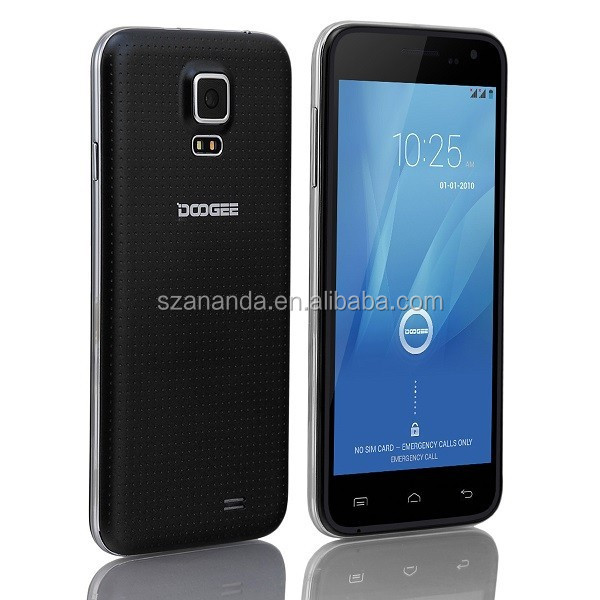 Factory price MTK6582 1.3MP+5MP Smartphone Doogee DG310 cellular phone
