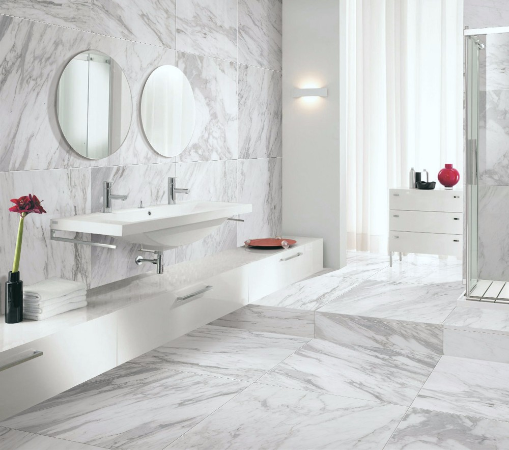 Polished And Matte Finish Face Bathroom Tile 3d Ceramic Floor Tile ...