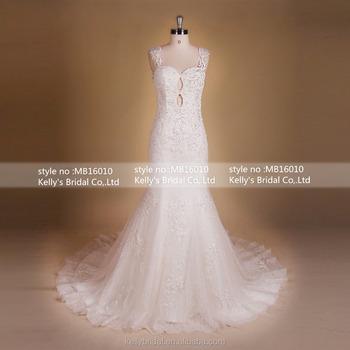 Mb16010 Halter Sexy Backless Wedding Dresses White Budget Wedding