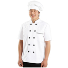 Chinese Cheap Design Indonesia Japanese Italian Cook White Kitchen Men Chef Uniform