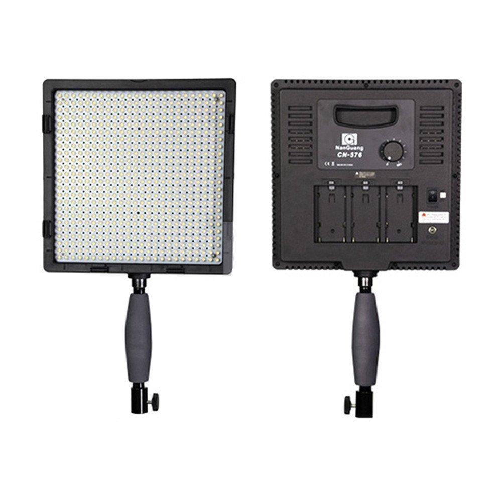 NANGUANG CN-576 5600K/3200K LED Video Studio Photo Light Lamp for DSLR Camera