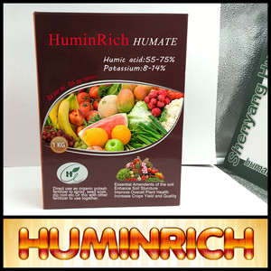 Huminrich Foliar Spray Bio Fertilizer Fulvic Acid Powder NPK Water Soluble Fertilizer