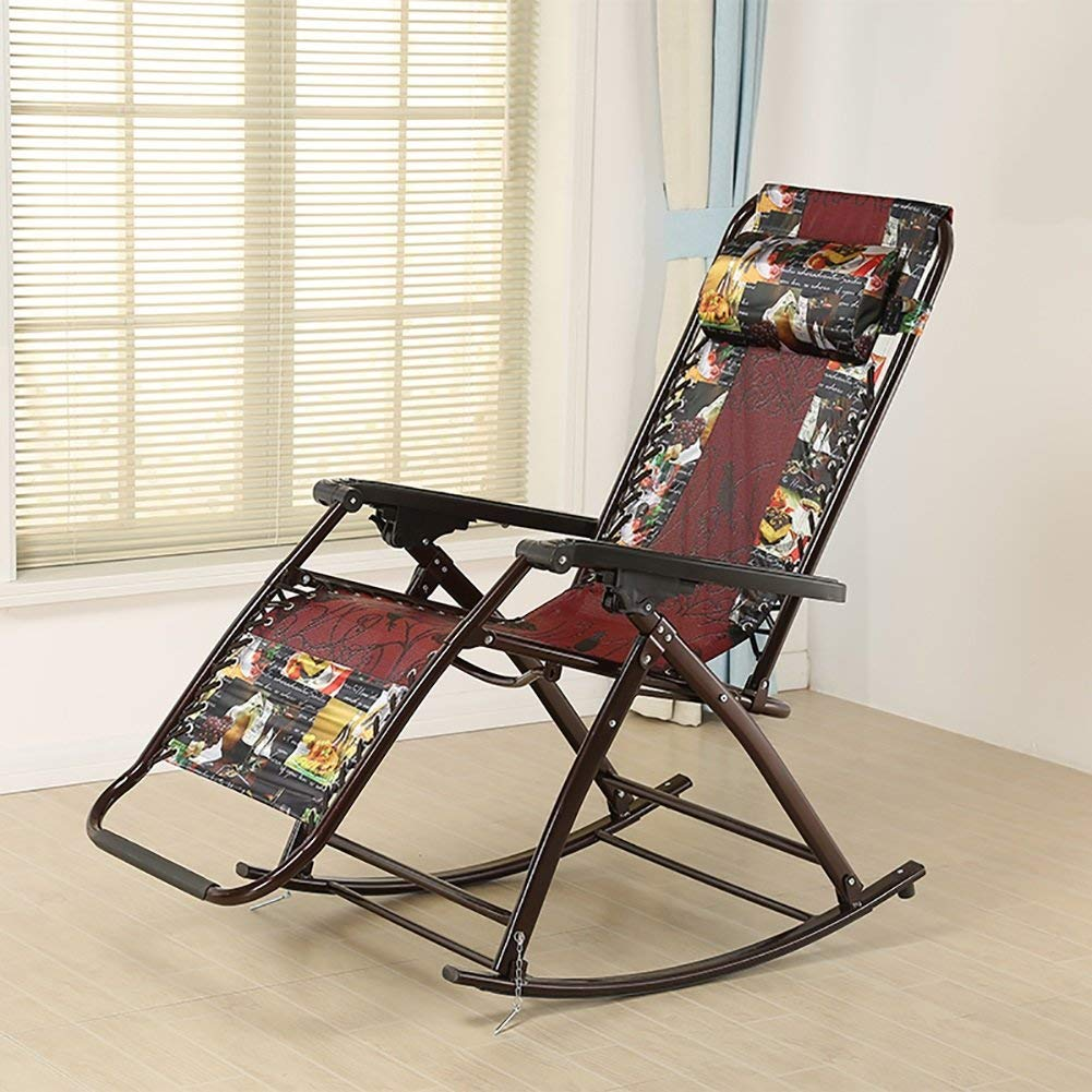 Admirable Buy Rocking Chairs Wssf Folding Adjustable Summer Cool Andrewgaddart Wooden Chair Designs For Living Room Andrewgaddartcom