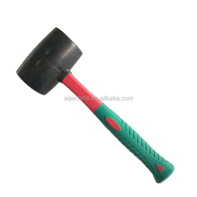 factory cheap rubber sledge hammer with plastic handle