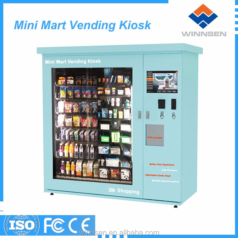 Coin accept umbrella/shoe automatic vending machine