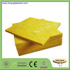 Soundproof Fiber Glass Wool Board Insulation Material Glass Wool Board
