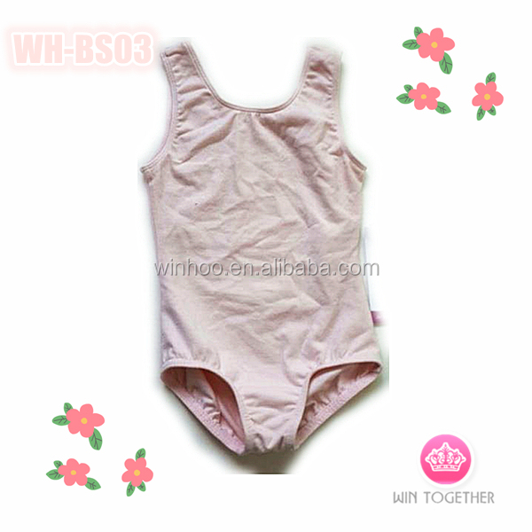 pink basic leotard with short sleeve dance leotard baby leotard