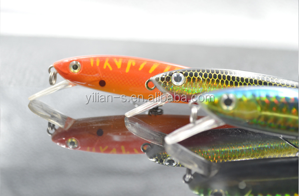 New color fishing lure molds fishing lure moulds minnow for Fishing lure molds