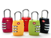 3 Dial Plastic Combination Lock TSA Luggage Lock