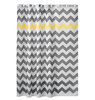 Eco-Friendly striped feature and PEVA material custom printed shower curtains