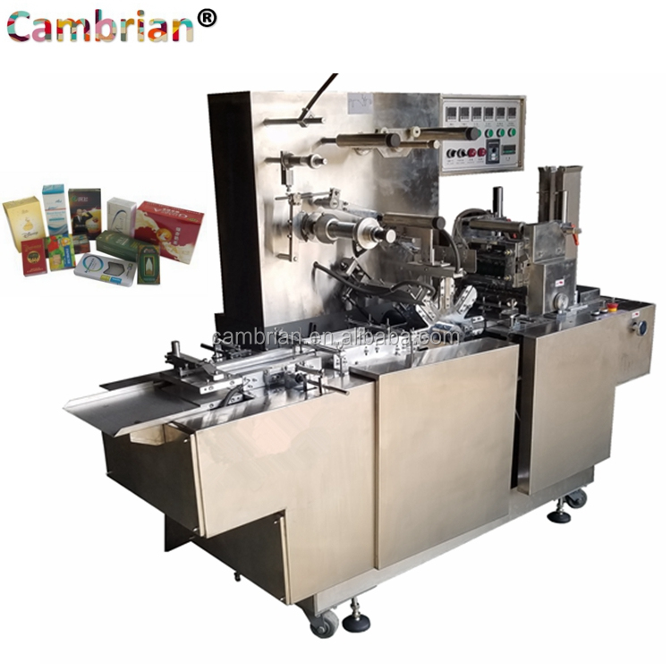 Widely usage playing card box film cellophane wrapping machine with best price