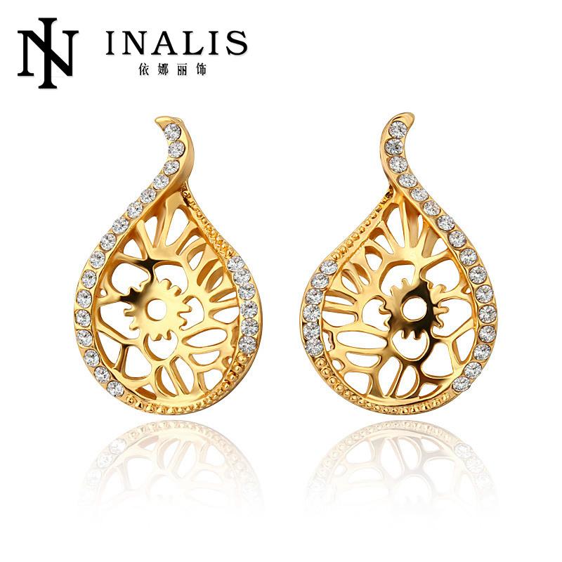 2014 2014 New Design Gold Jhumka Earrings E755 - Buy New Design ...