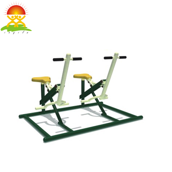 Outdoor fitness equipment rowing machine