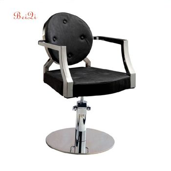 High quality black kids barber chair men's salon chairs wholesale price