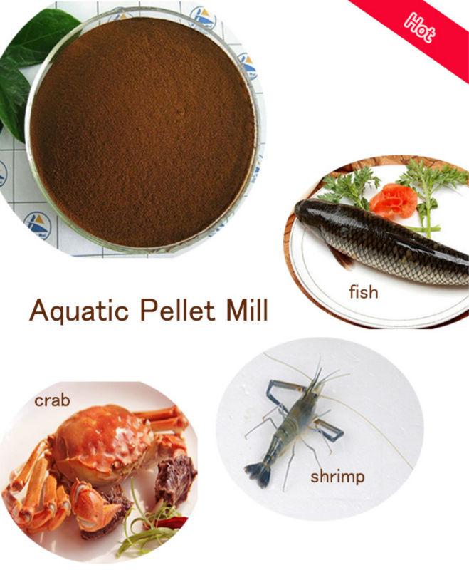 Aqua Feed Pellet Mill Fish Farming Equipment Fish Feed Pellet ...