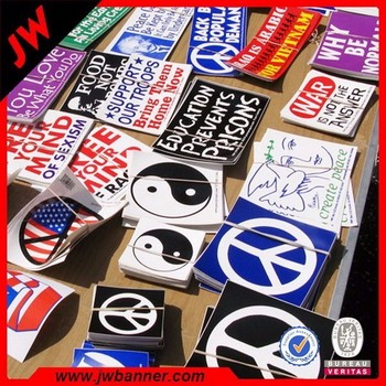 Printing waterproof custom logo stickersself adhesive vinyl sticker roll