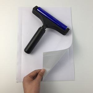 24x33cm Antistatic Remove Dust Sticky Pad Paper to Clean Silicone Lint  Roller