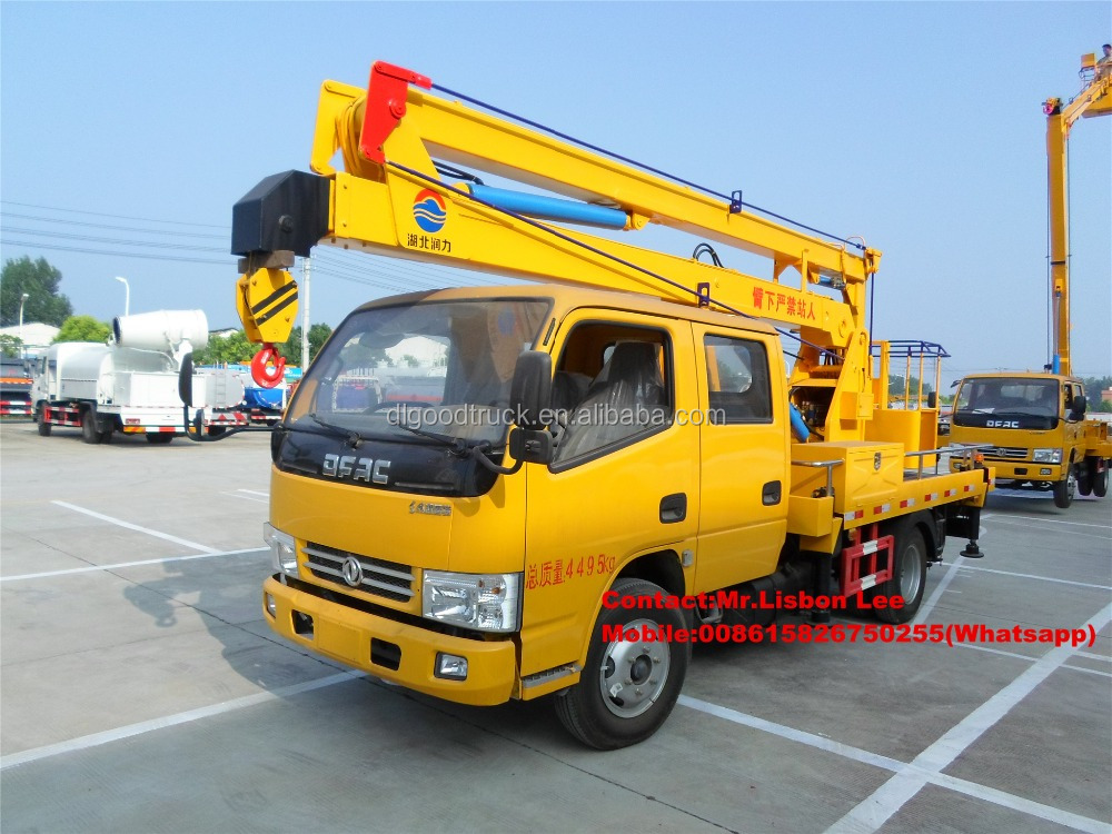 DFAC 12meters high altitude operation truck with good price for sale 008615826750255 (Whatsapp)