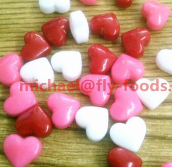 Bulk Heart Shaped Cake Sprinkles Tablet Candy Press For Cake