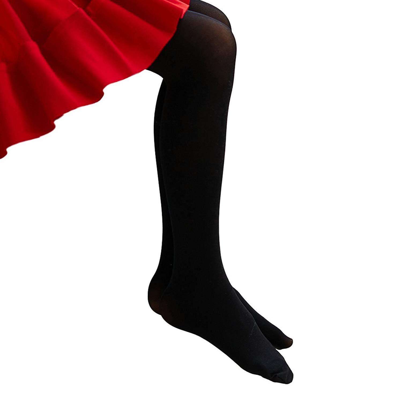 335db925db9 Get Quotations · Pitping Childrens Girls Full Foot Dance Ballet Tights  Dance Stockings Socks