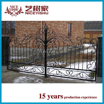 House Gate Color/iron Gate Grill Designs/different Steel Gate ...