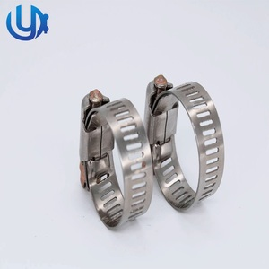 Factory price taiwan clamp hose ideal air steel hose clamp